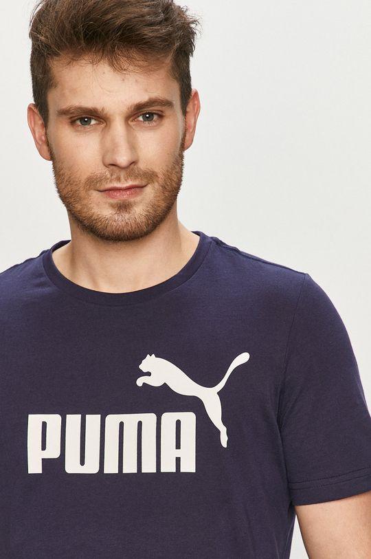 námořnická modř Puma - Tričko
