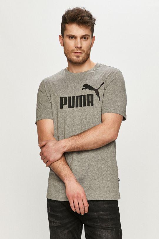 šedá Puma - Tričko Pánský