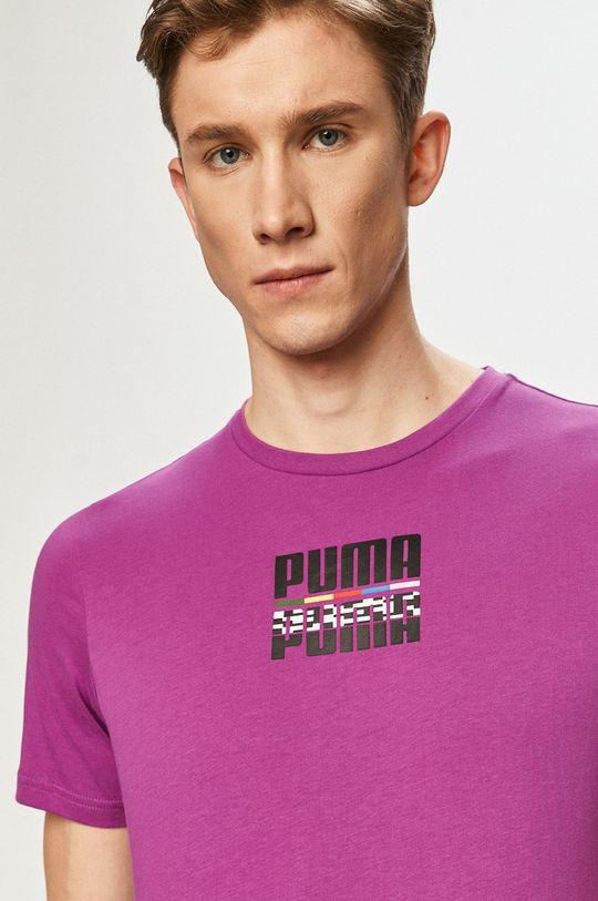 fialová Puma - Tričko
