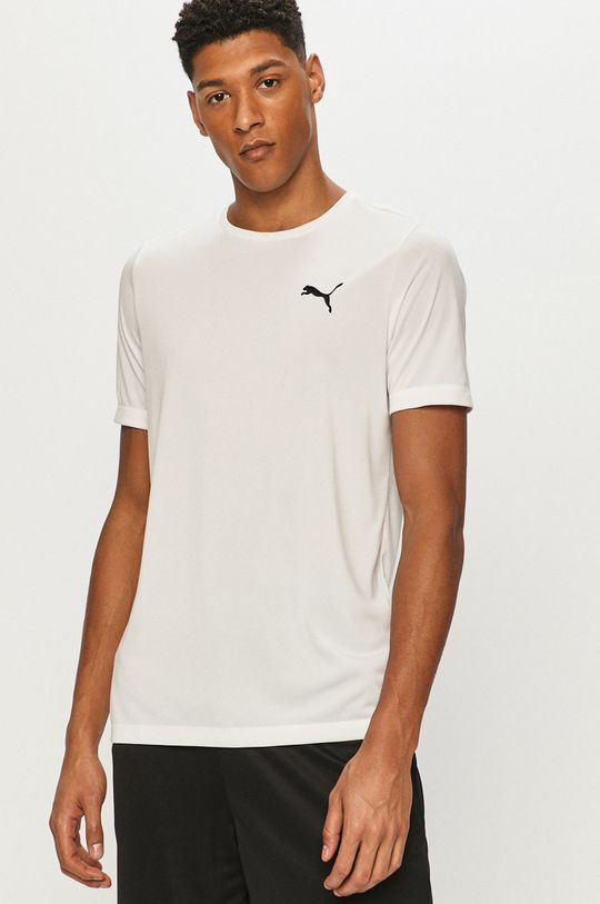 biały Puma - T-shirt Męski