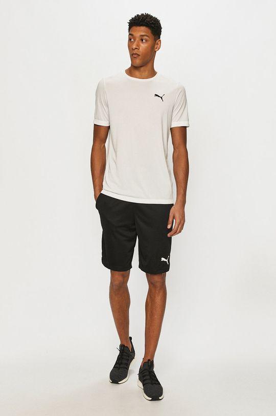 Puma - T-shirt biały