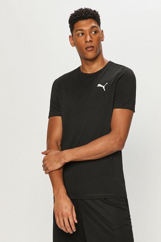 czarny Puma - T-shirt Męski