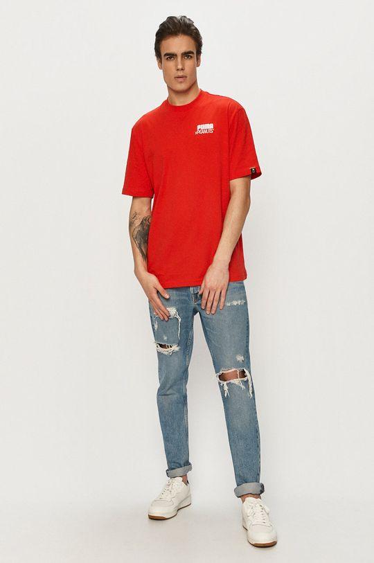 Puma - T-shirt x Peanuts 100 % Bawełna