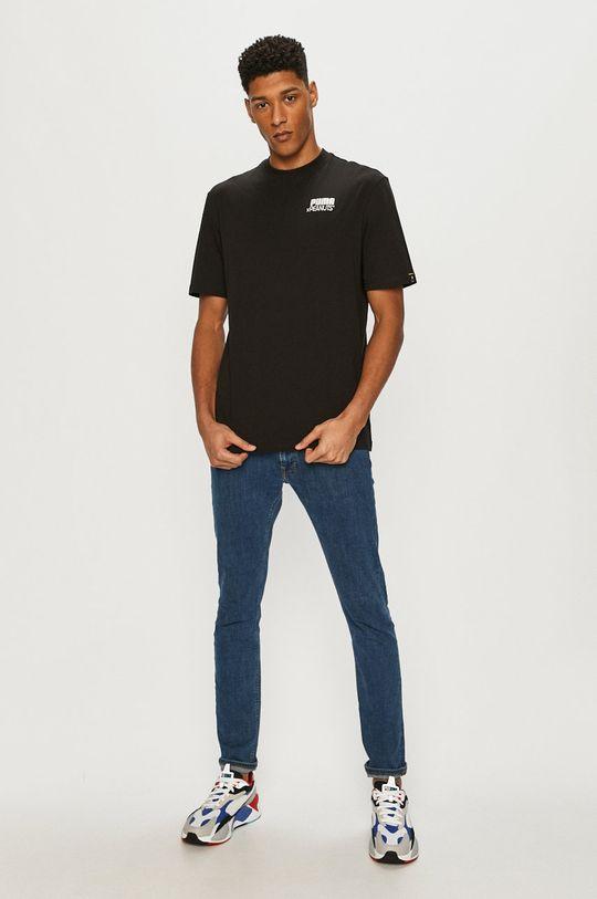 Puma - T-shirt x Peanuts czarny