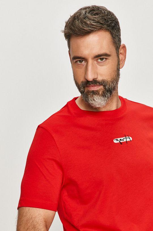 červená Hugo - Tričko