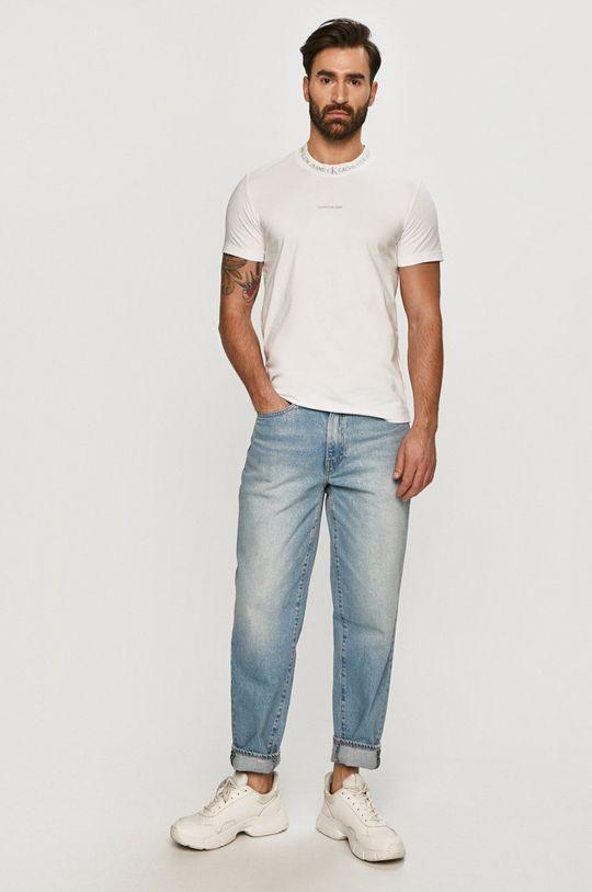 Calvin Klein Jeans - Tričko bílá