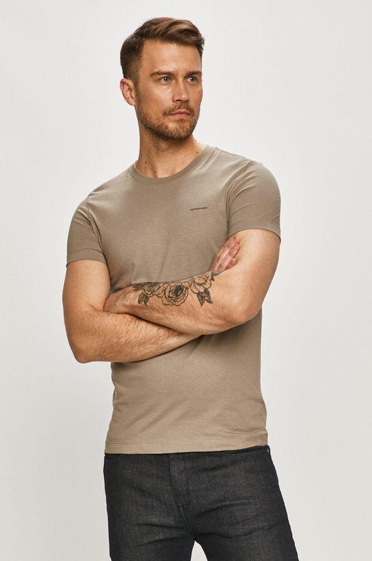 Calvin Klein Jeans - Tričko (2-pack) šedá