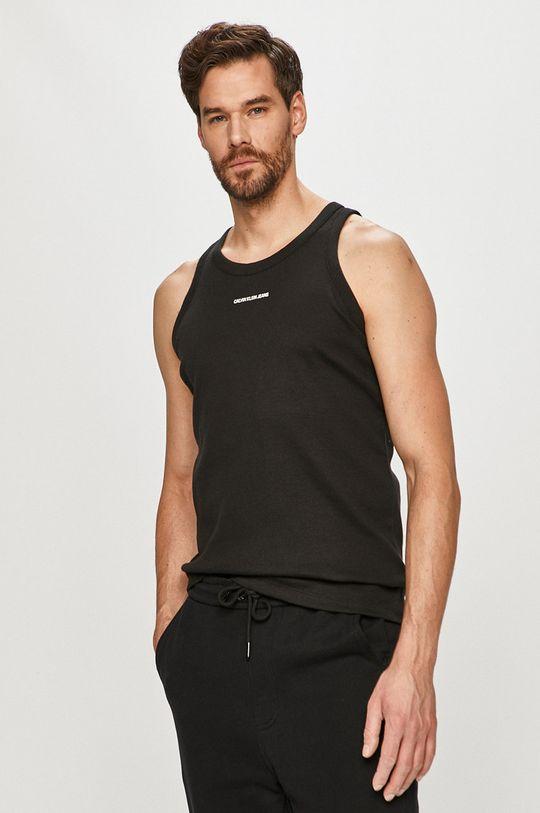 Calvin Klein Jeans - T-shirt 4 % Elastan, 96 % Bawełna organiczna
