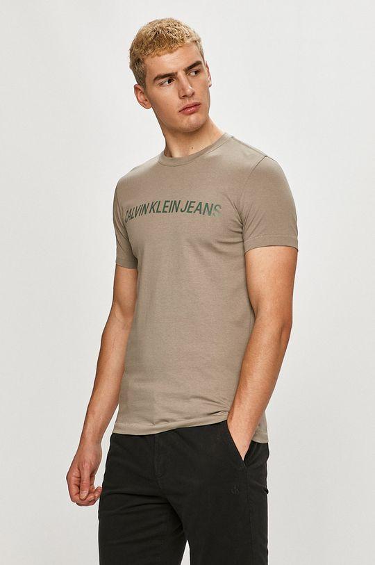 písková Calvin Klein Jeans - Tričko