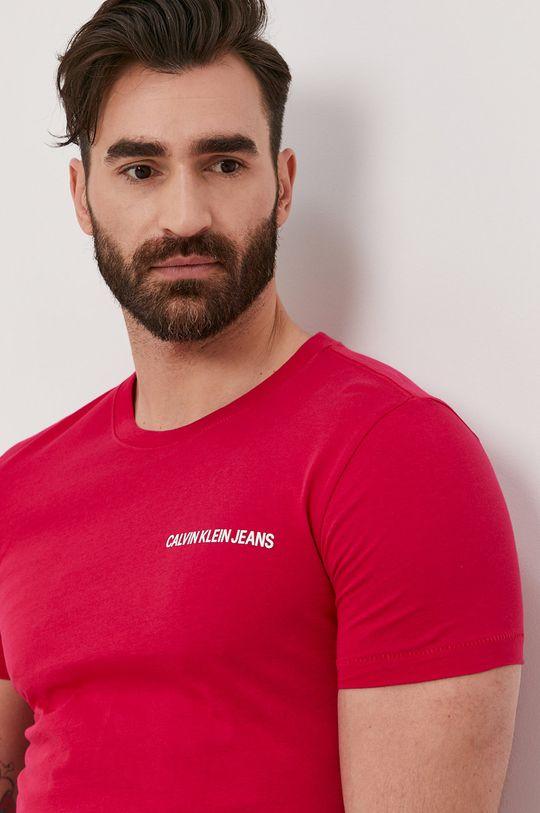 růžová Calvin Klein Jeans - Tričko Pánský