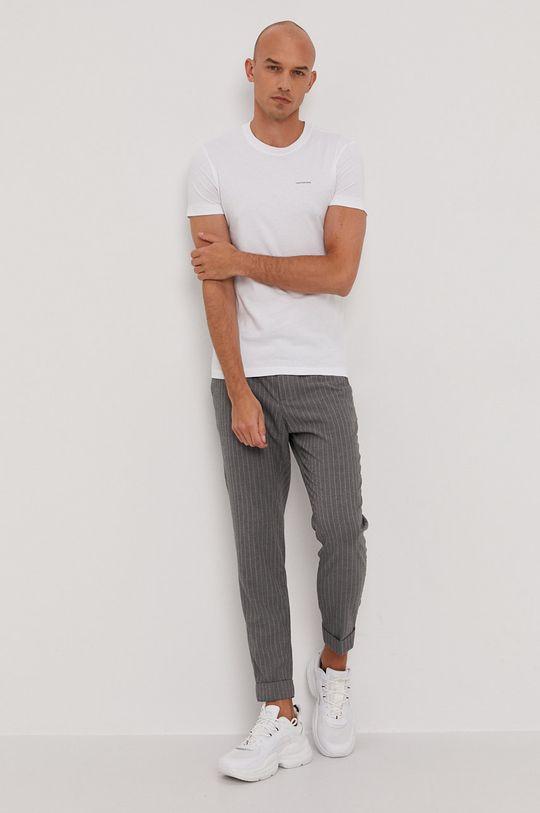 Calvin Klein Jeans - Tričko (2-pack) bílá