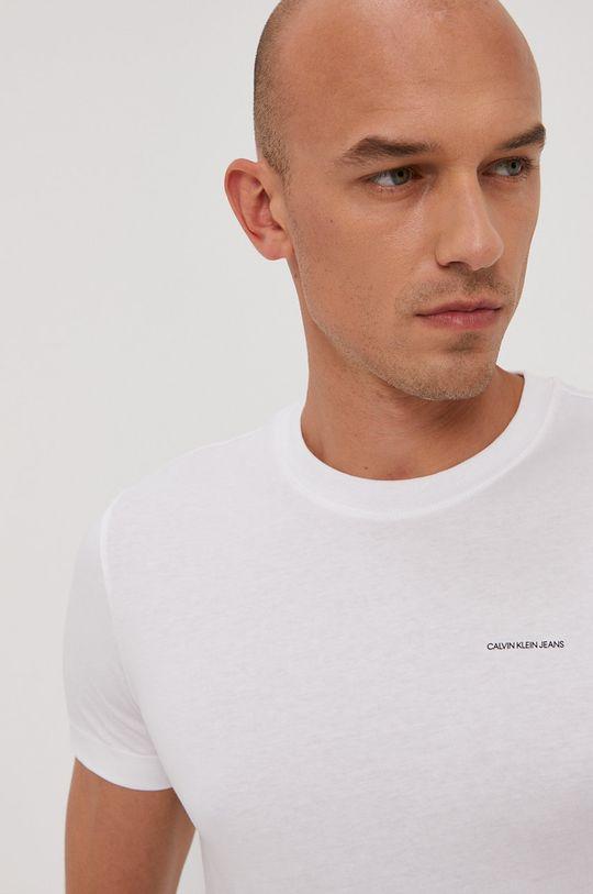 bílá Calvin Klein Jeans - Tričko (2-pack)
