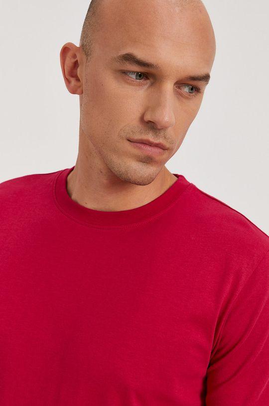 ostrá růžová Calvin Klein Jeans - Tričko