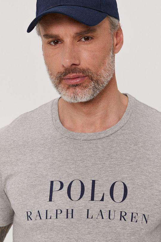 szary Polo Ralph Lauren - T-shirt