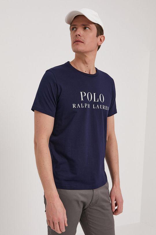 granatowy Polo Ralph Lauren - T-shirt