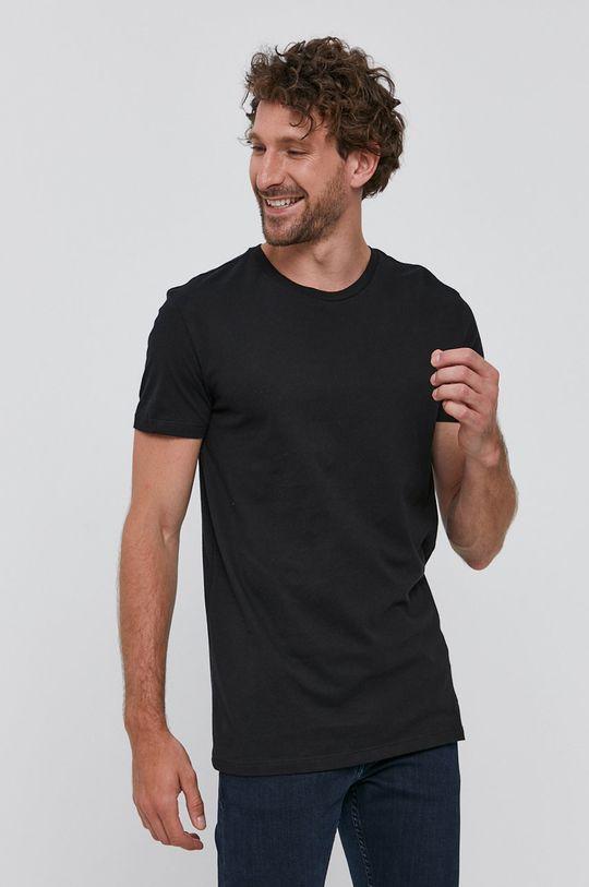 černá Polo Ralph Lauren - Tričko (3-pack) Pánský