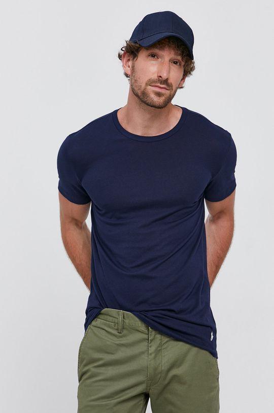 granatowy Polo Ralph Lauren - T-shirt (3-pack) Męski