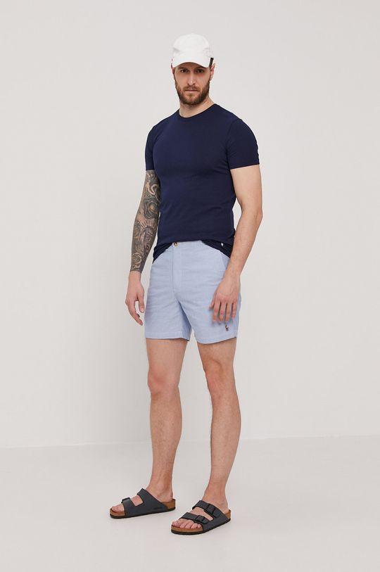 granatowy Polo Ralph Lauren - T-shirt (3-pack)
