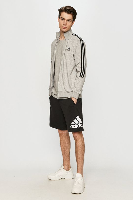 adidas - Tričko světle šedá