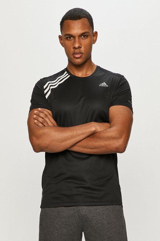 negru adidas Performance - Tricou De bărbați