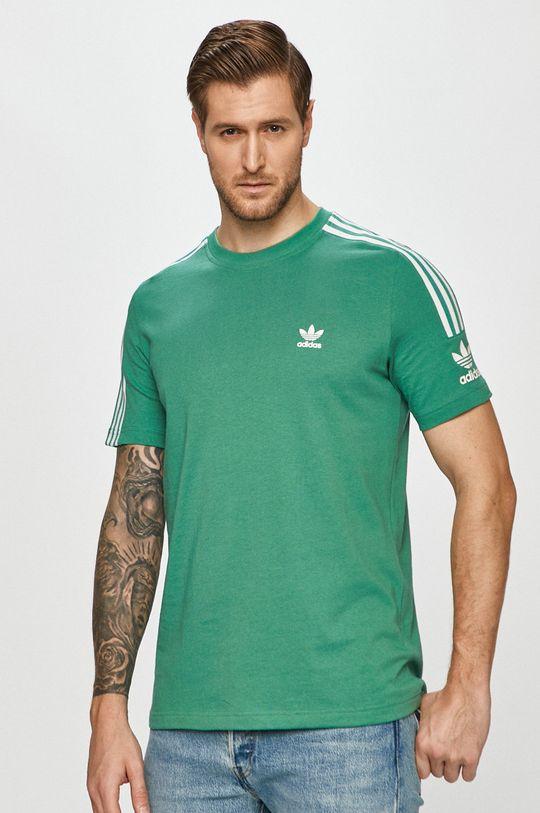 zelená adidas Originals - Tričko Pánský