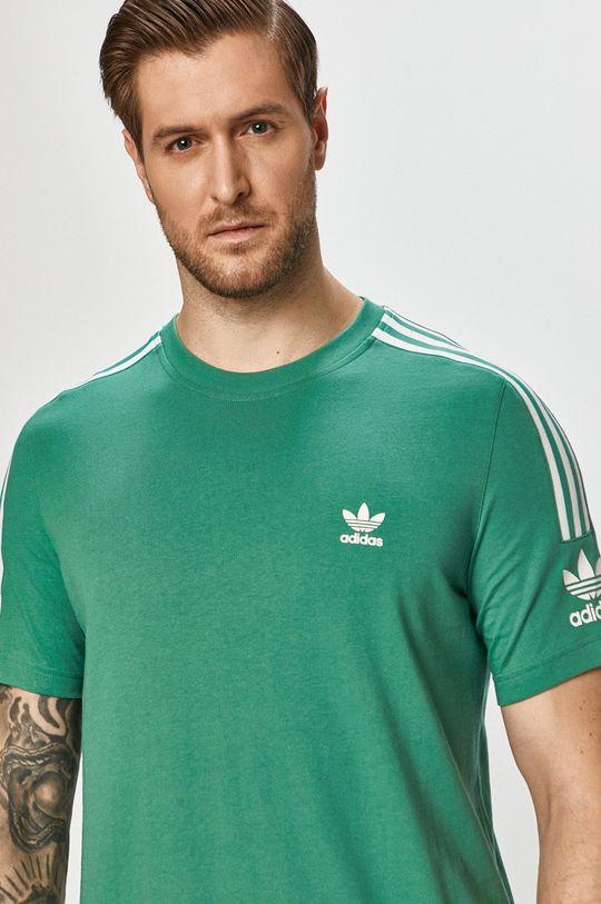 zelená adidas Originals - Tričko