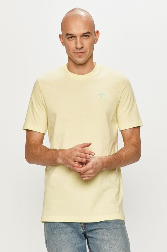 žlto-zelená adidas Originals - Tričko