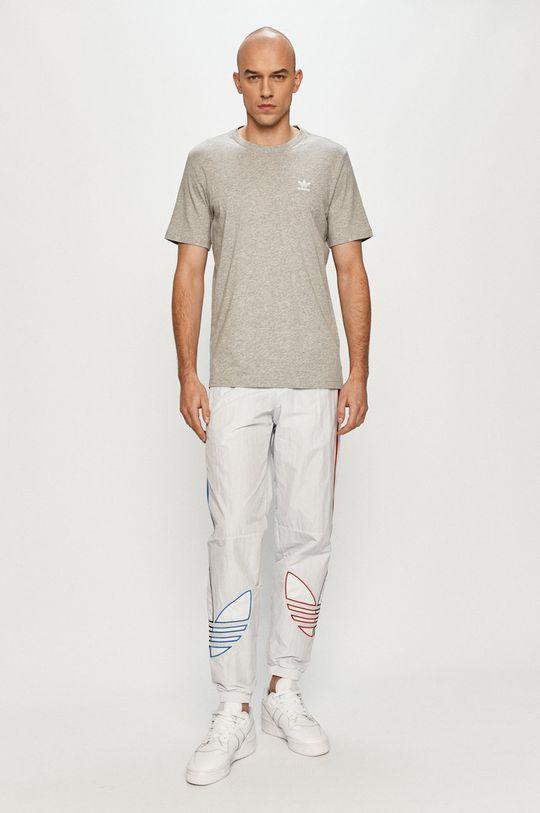 adidas Originals - Tričko světle šedá