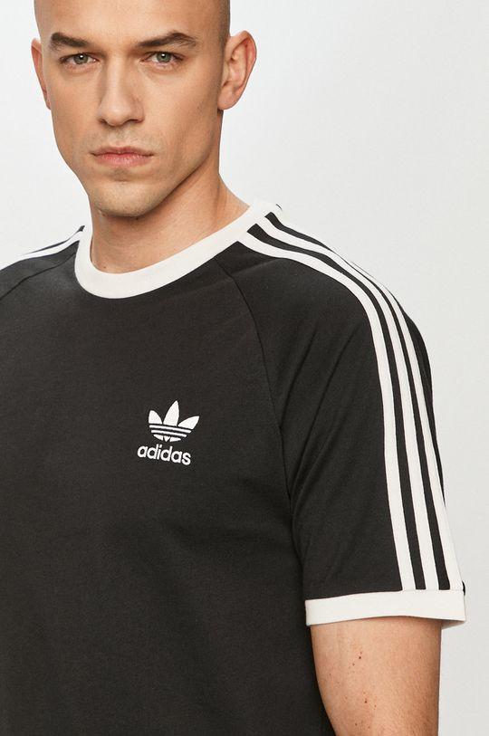 čierna adidas Originals - Tričko Pánsky