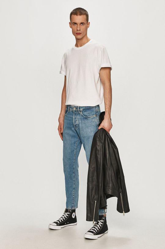 bílá Pepe Jeans - Tričko Pánský