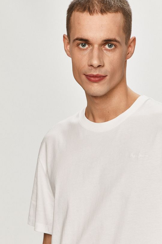 bílá Pepe Jeans - Tričko