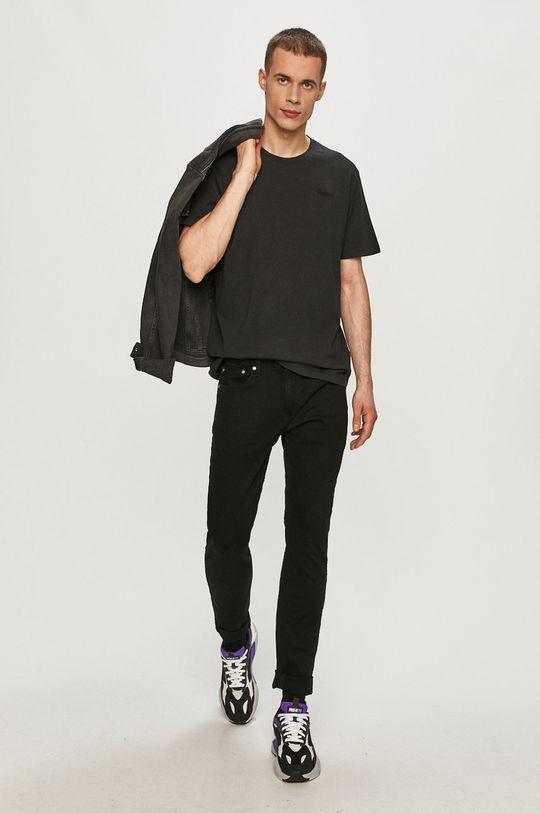 Pepe Jeans - Tričko Jim černá