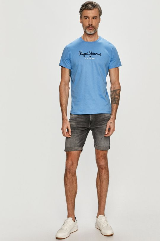 Pepe Jeans - Tričko Eggo modrá