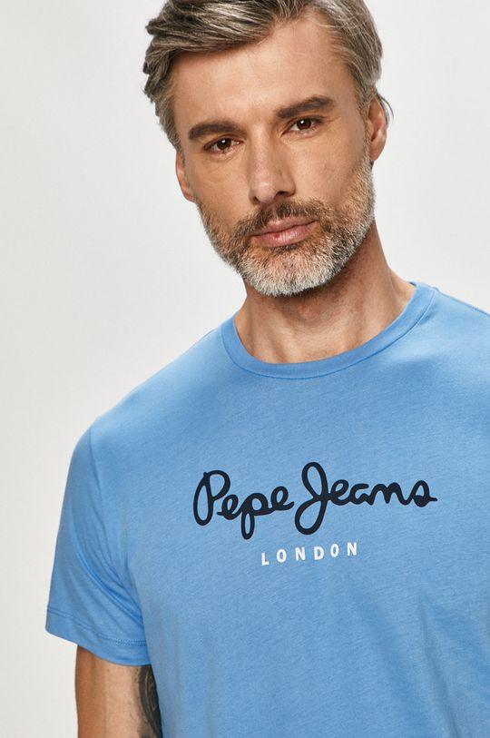 modrá Pepe Jeans - Tričko Eggo