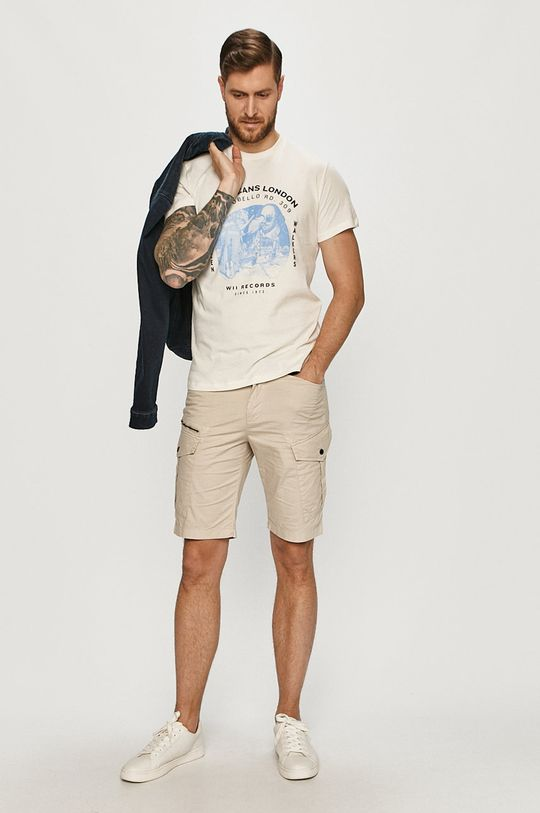 Pepe Jeans - T-shirt Damiel biały