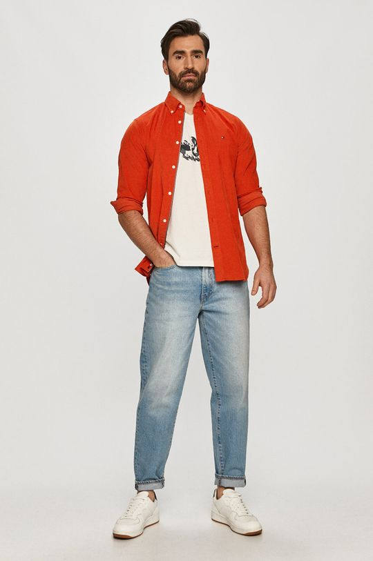 Pepe Jeans - T-shirt Anthony biały