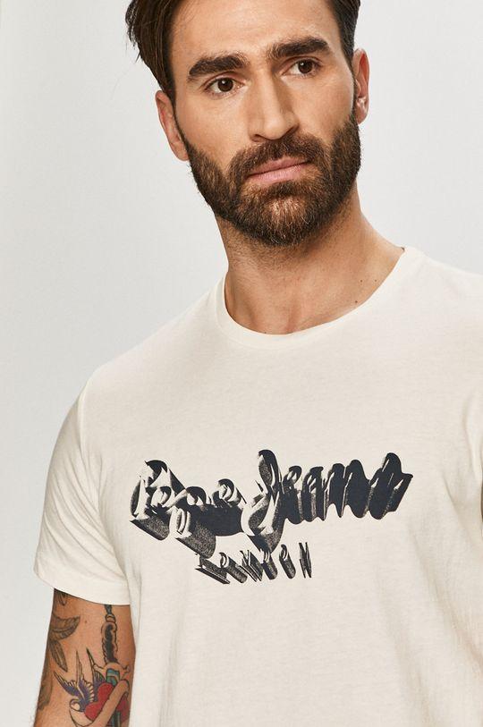 biały Pepe Jeans - T-shirt Anthony