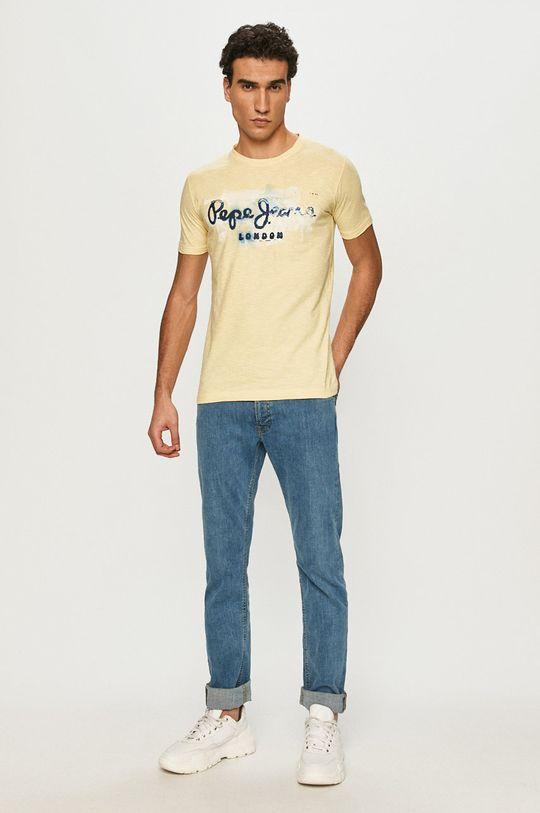 Pepe Jeans - Tričko Golders žlutá
