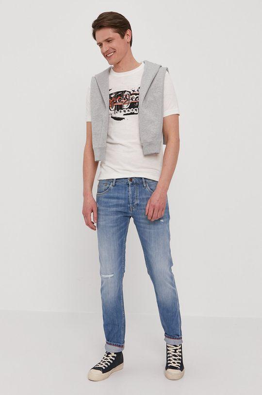 Pepe Jeans - T-shirt Amersham biały
