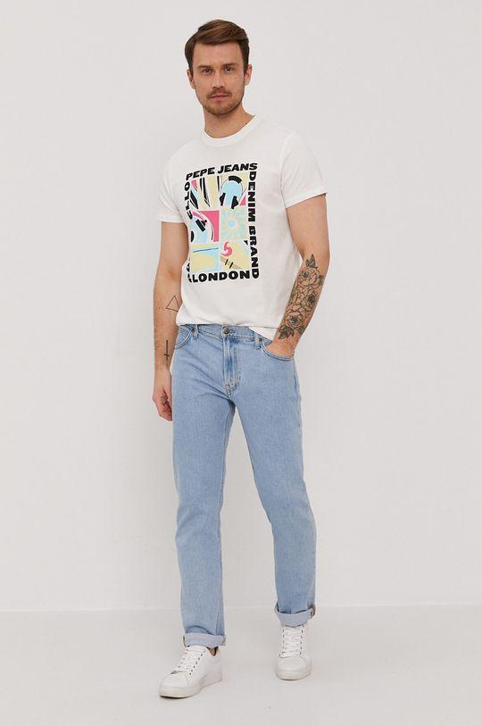 Pepe Jeans - Tricou Mac alb