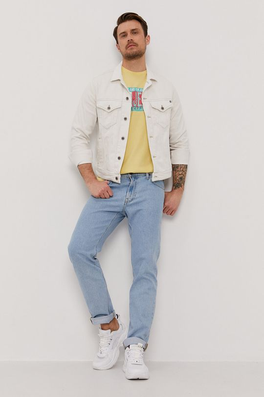 Pepe Jeans - T-shirt Mark żółty