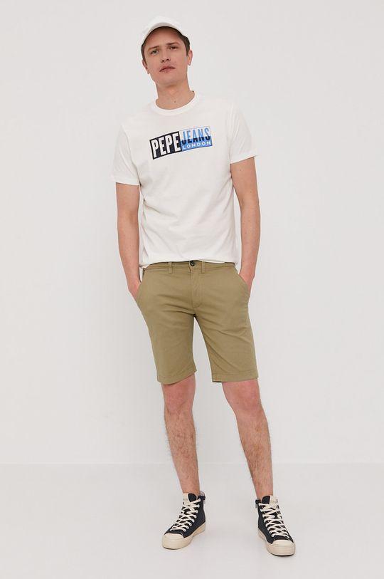 Pepe Jeans - Tričko Gelu biela