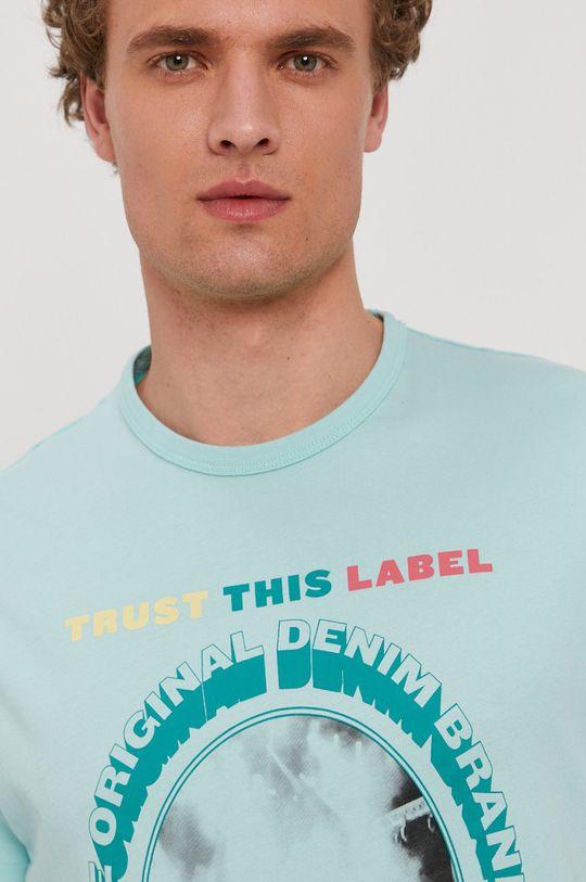 jasny turkusowy Pepe Jeans - T-shirt Matt