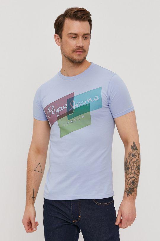jasny niebieski Pepe Jeans - T-shirt Morrison