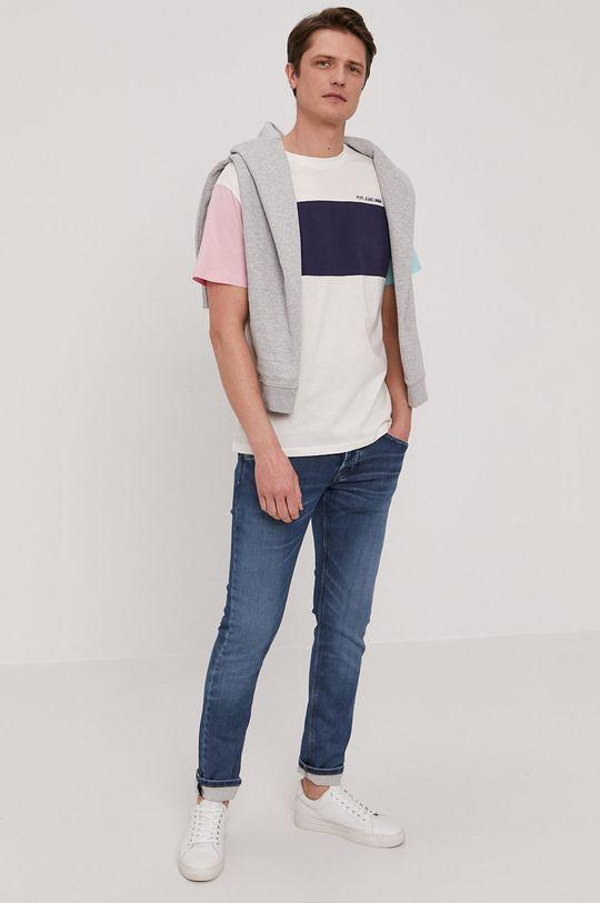 biały Pepe Jeans - T-shirt Morgan Męski