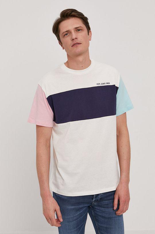 Pepe Jeans - T-shirt Morgan biały