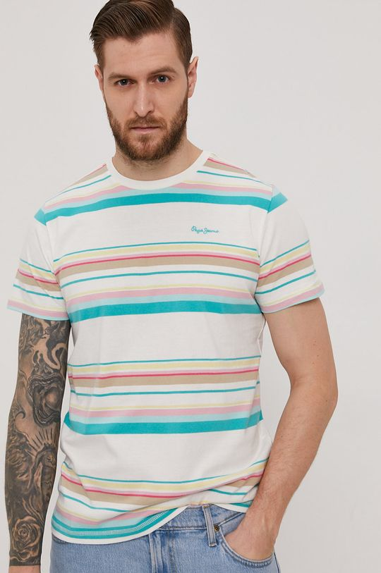 multicolor Pepe Jeans - T-shirt Molly Męski