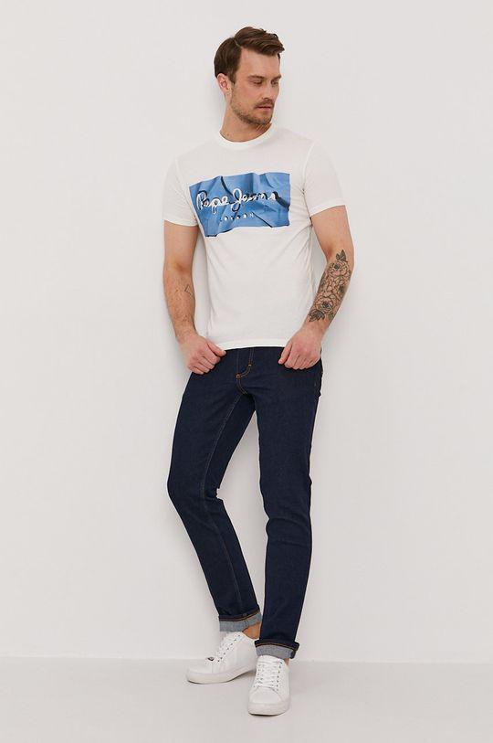 Pepe Jeans - Tričko Raury modrá