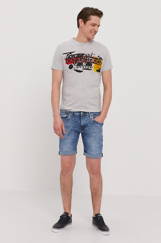 Pepe Jeans - T-shirt Amersham szary