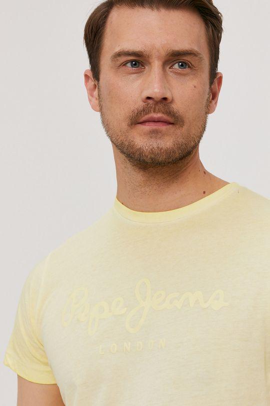 żółty Pepe Jeans - T-shirt West